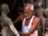 Potter working at Kumartuli