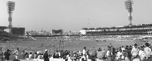 Eden Gardens Stadium at Kolkata.