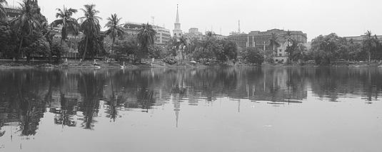 Lal Dighi at Kolkata