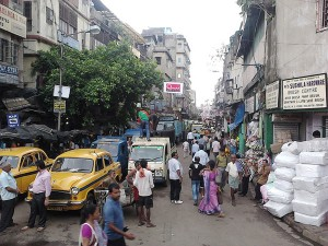 Burrabazar, Kolkata. Courtesy: Wikipedia