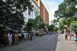 College Street, Kolkata. Courtesy: Wikipedia